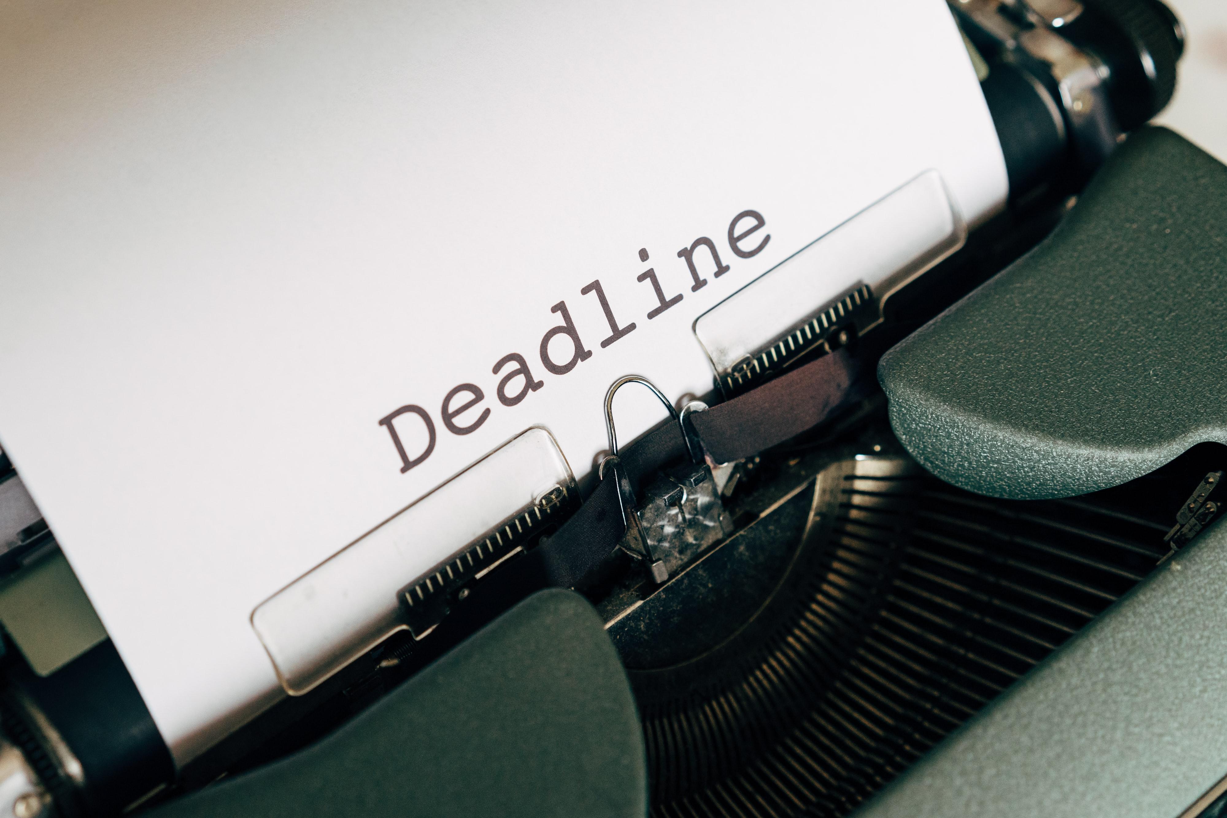 grant resources, grand deadlines